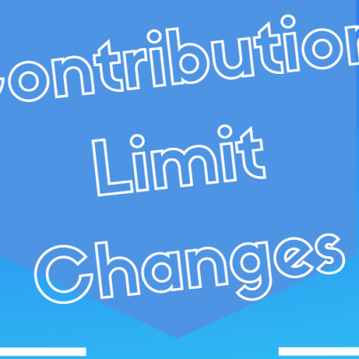 Contribution Limit Changes