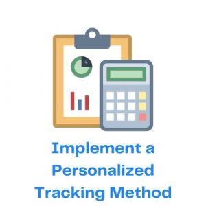 Implement a Personalized Tracking Method with Icon