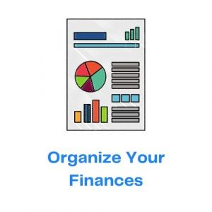 Organize Your Finances with icon