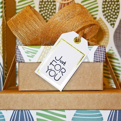 Gifts labeled Just for you